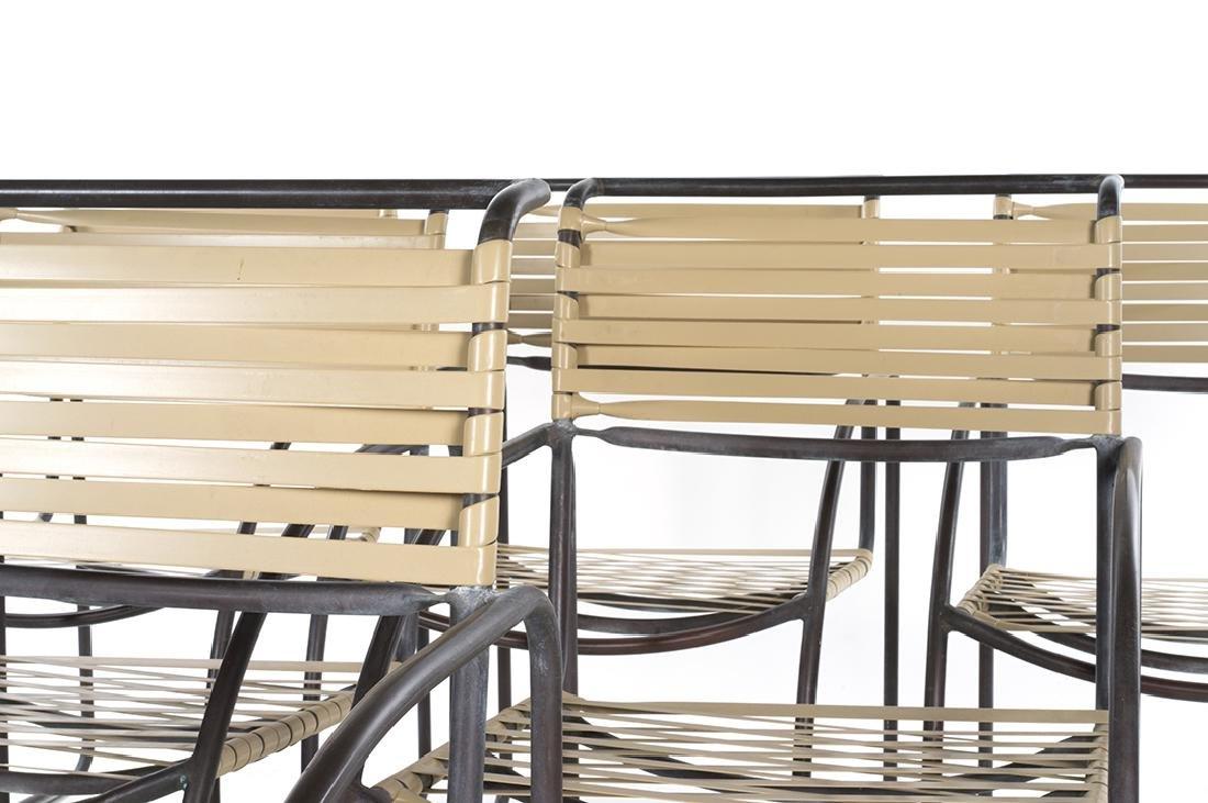 Kipp Stewart Bronze Armchairs (6) - 3