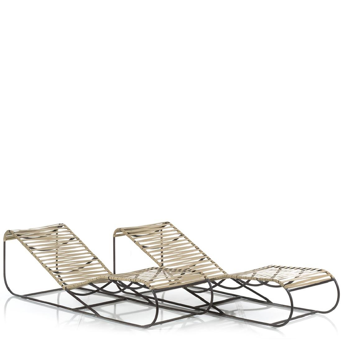 Kipp Stewart Bronze Chaise Lounges (2) - 2
