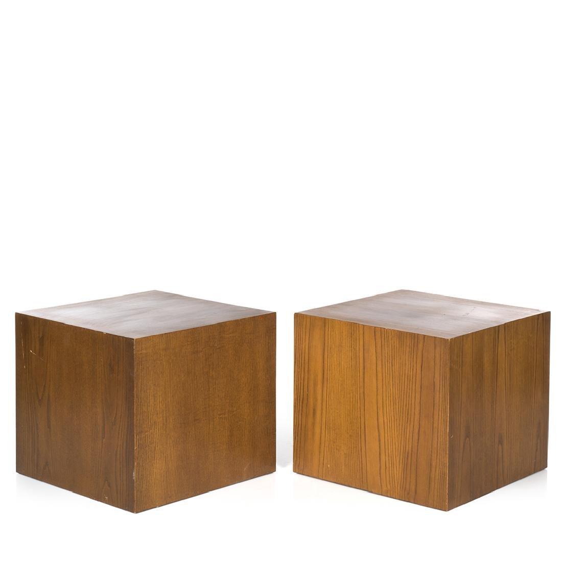 Edward Axel Roffman Walnut Cubes (2)