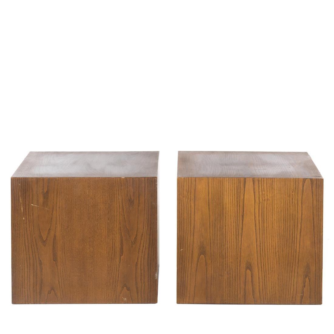 Edward Axel Roffman Walnut Cubes (2) - 2