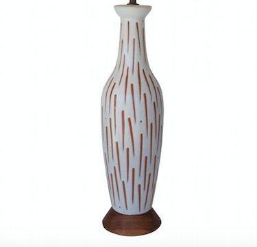 Lee Rosen Ceramic Lamp