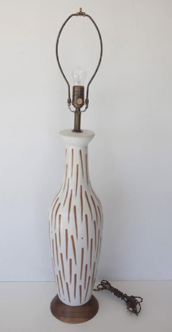 Lee Rosen Ceramic Lamp - 3
