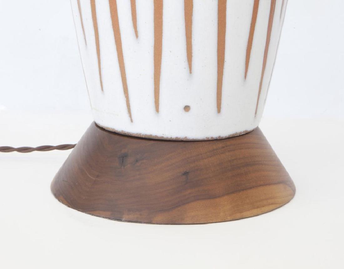 Lee Rosen Ceramic Lamp - 4