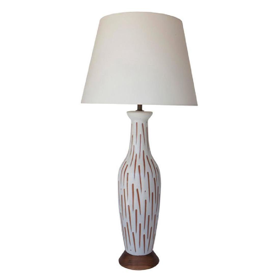 Lee Rosen Ceramic Lamp - 5