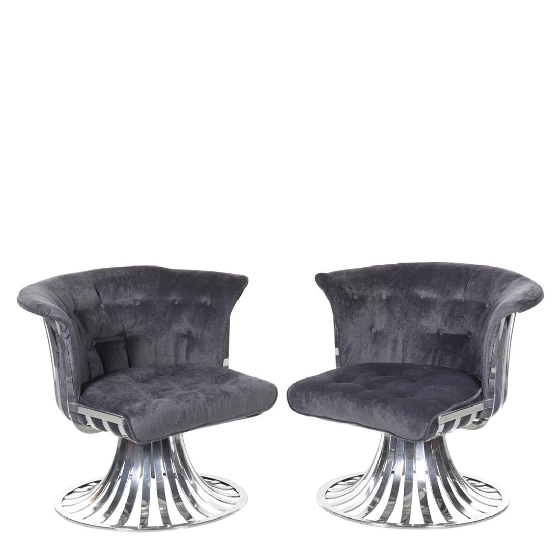 Russell Woodard Aluminum Lounge Chairs (2)