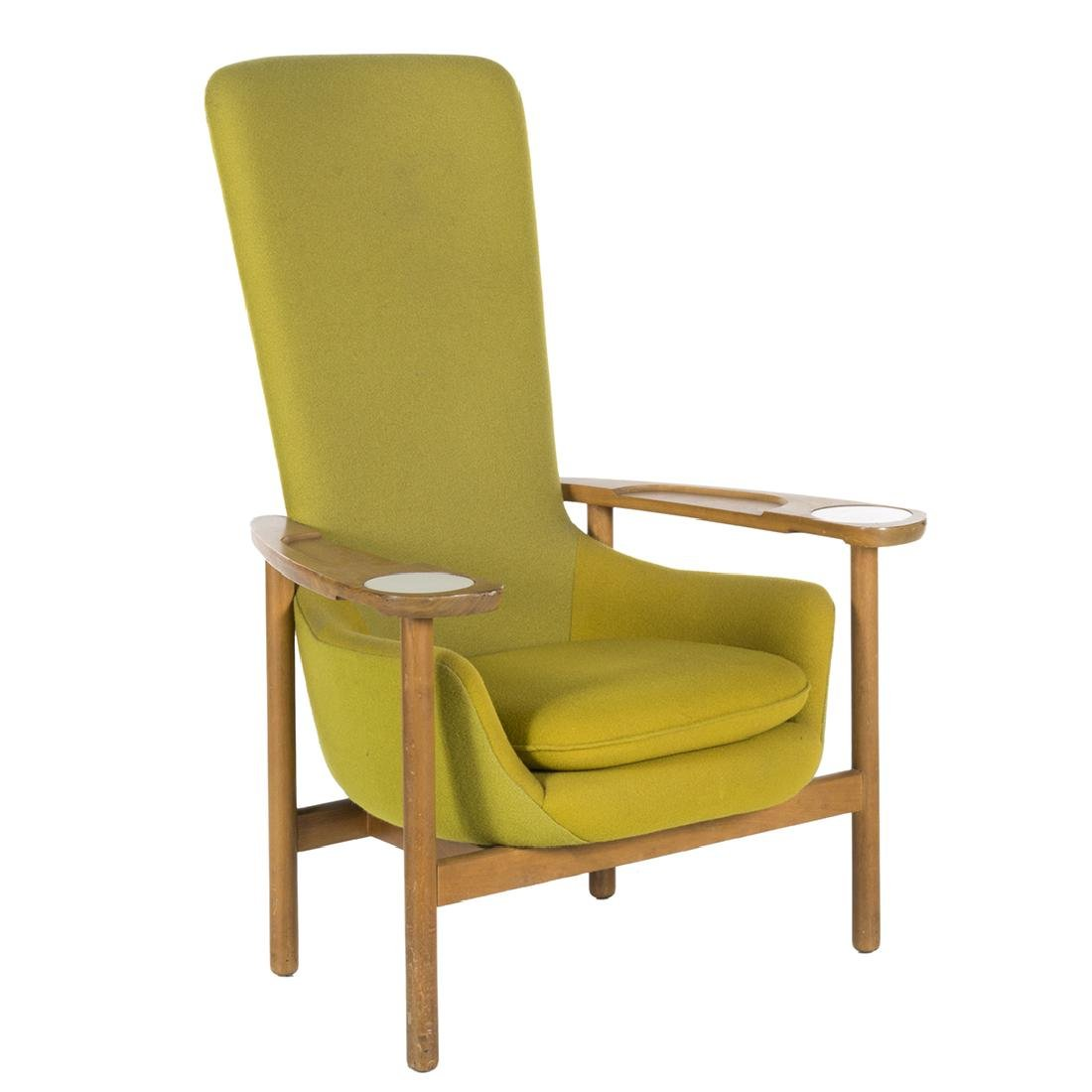 Kipp Stewart High Back Lounge Chair