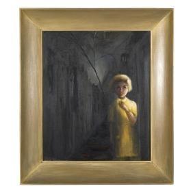 Margaret Keane Oil Painting