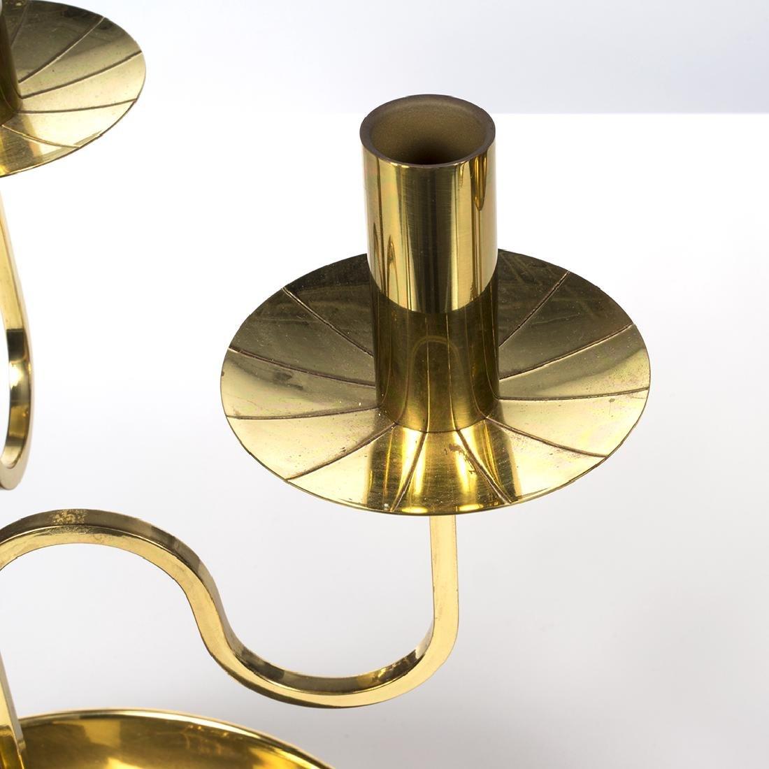 Tommi Parzinger Brass Candelabras (2) - 4