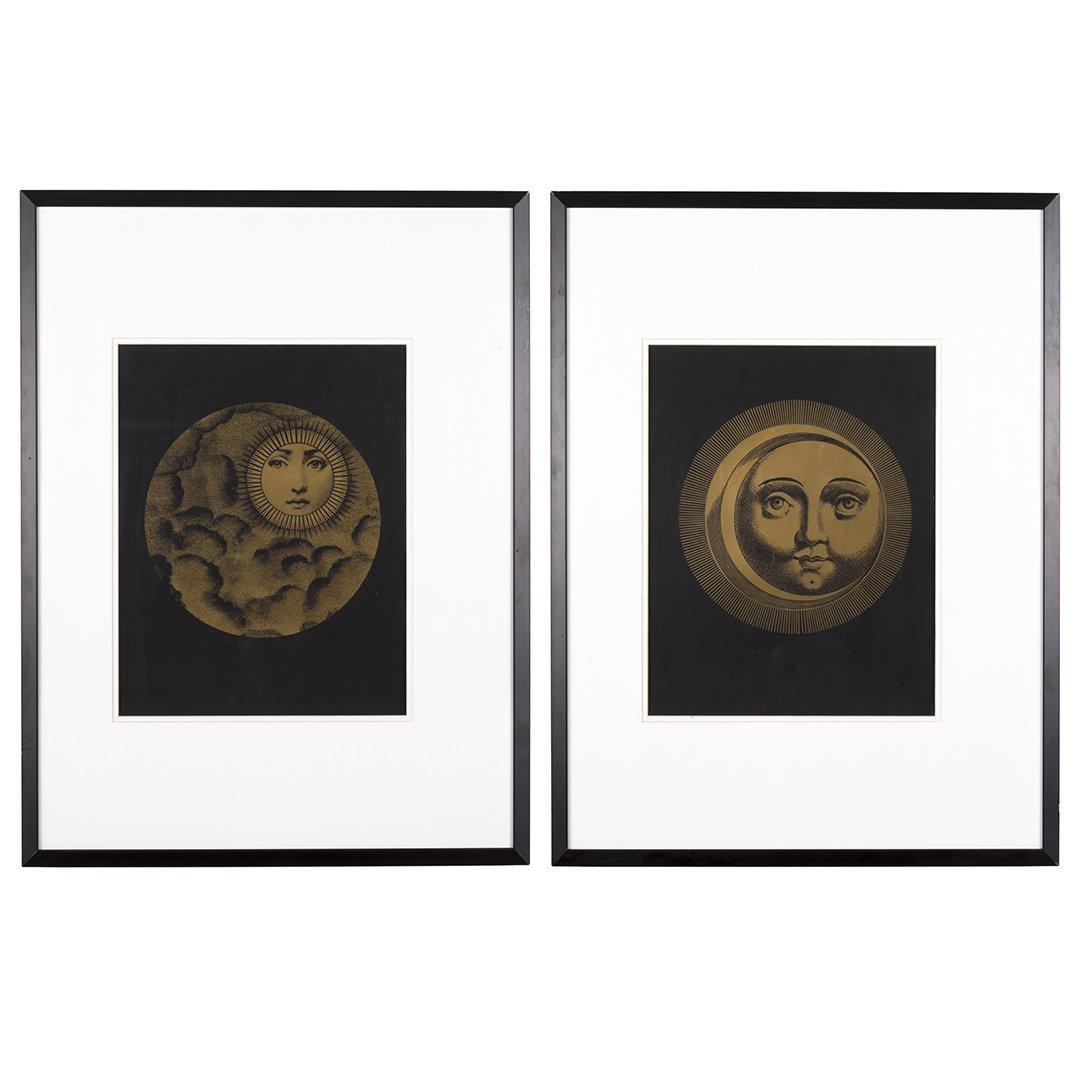 Fornasetti Art Prints Fornasetti Sole And Luna Silk Screen Prints 2