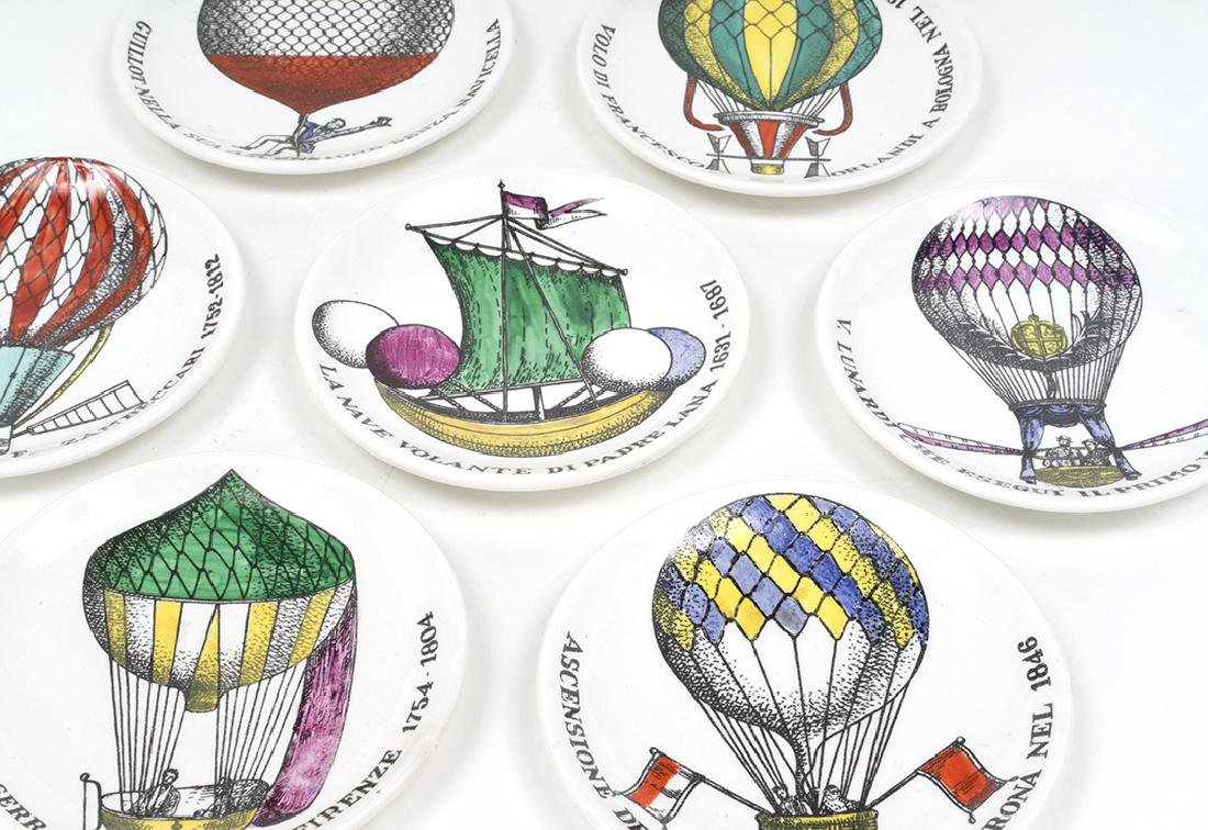 Piero Fornasetti Coasters (7) - 2