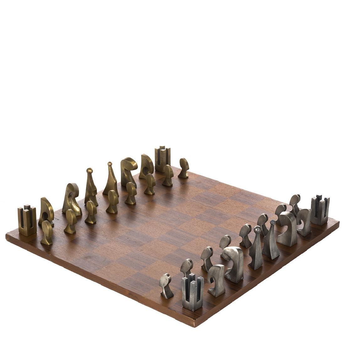 Pierre Cardin Evolution chess set - 2