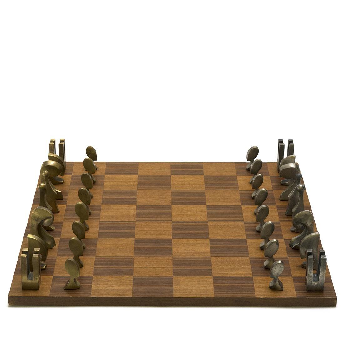 Pierre Cardin Evolution chess set - 3