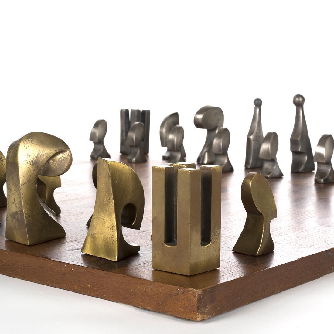Pierre Cardin Evolution chess set - 4