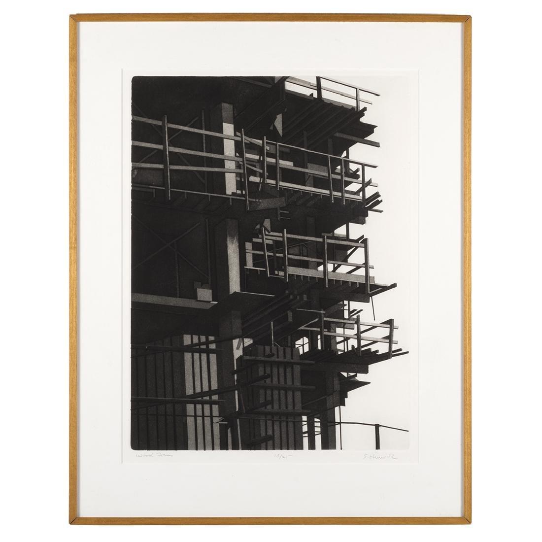 Etching by S. Hurwitz