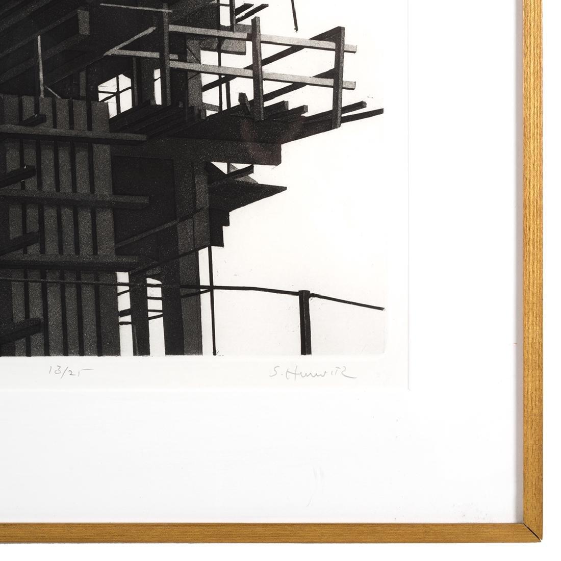 Etching by S. Hurwitz - 2