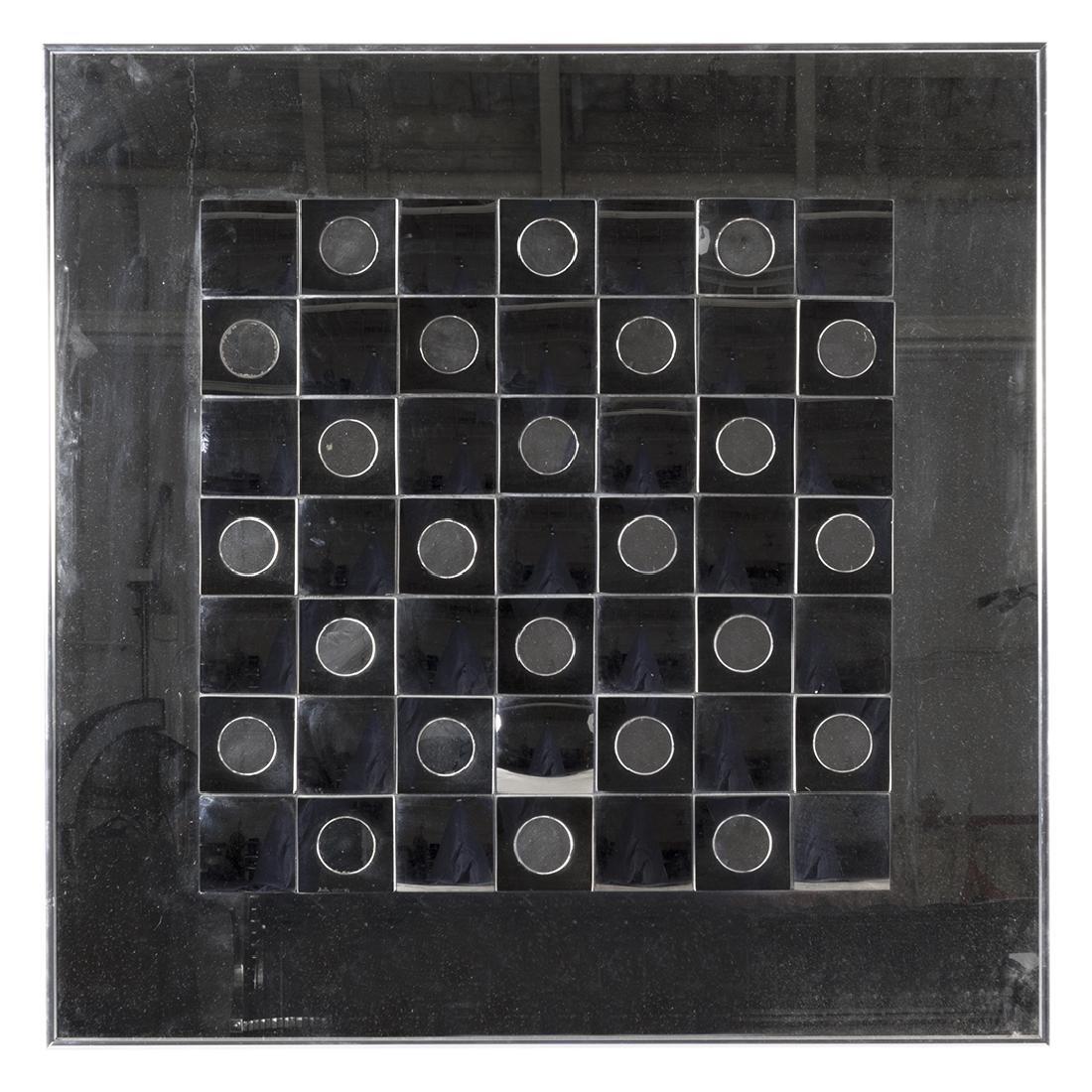 Hal Bienenfeld Optical Art Mirror