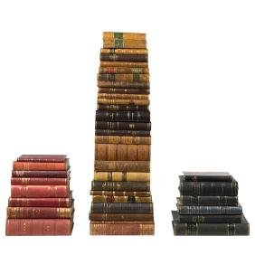 Danish leather bound books (40)