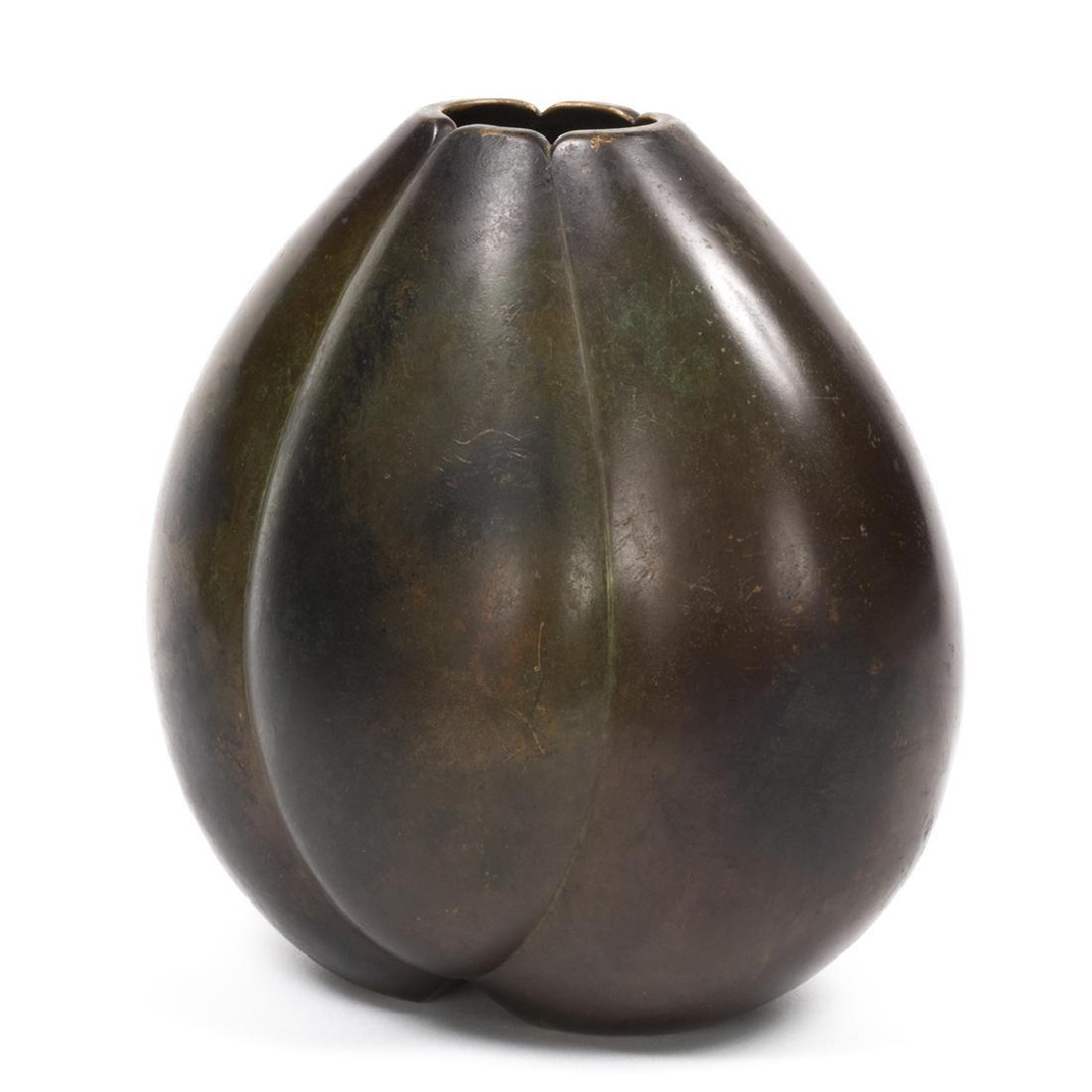 Just Andersen Bronze Vase - 2
