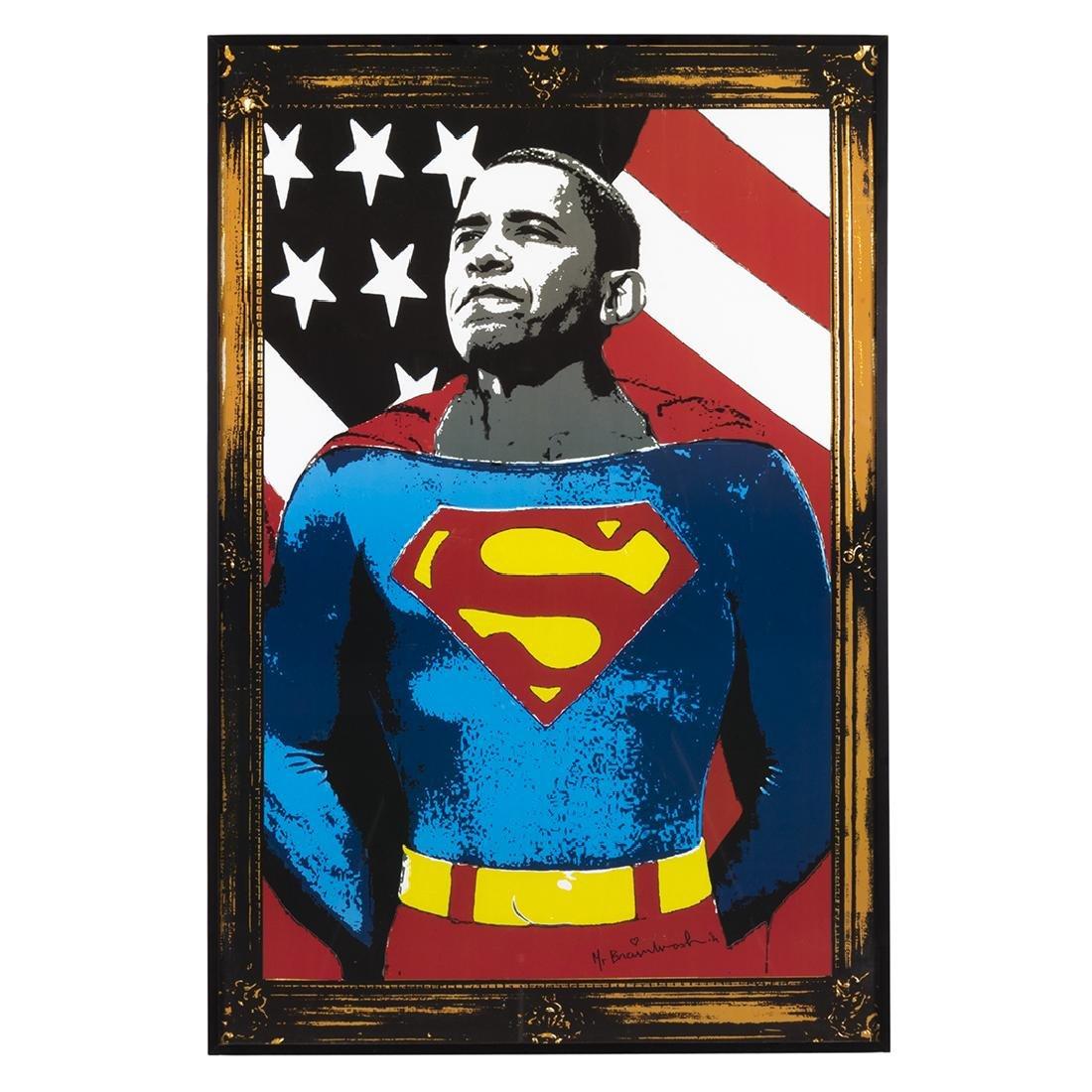 Mr. Brainwash Superman Silkscreen