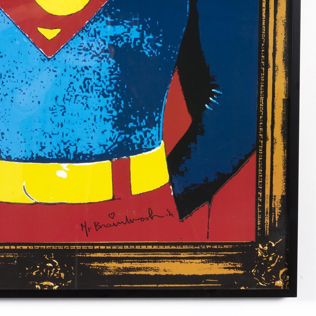 Mr. Brainwash Superman Silkscreen - 2
