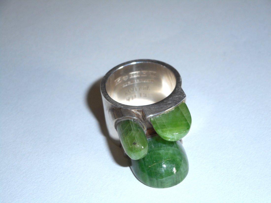 Taisto Palonen Modernist Nephrite Ring