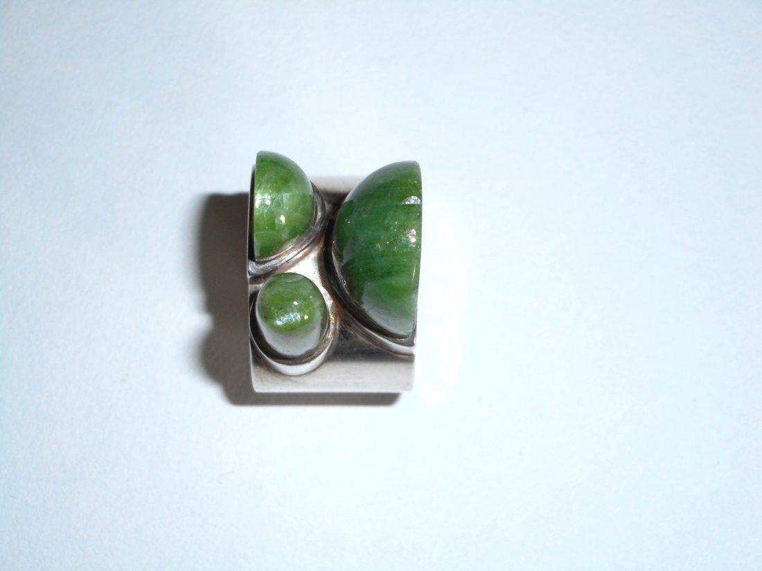 Taisto Palonen Modernist Nephrite Ring - 3