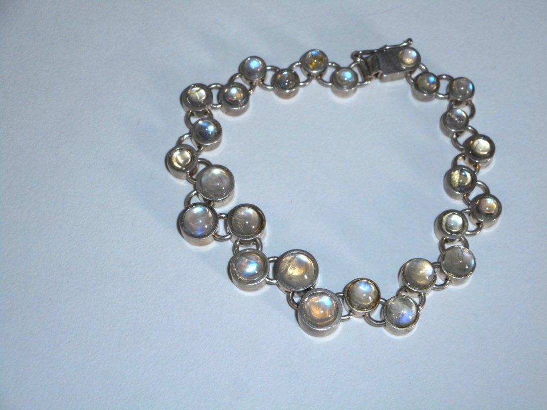 Taisto Palonen Moonstone Bracelet