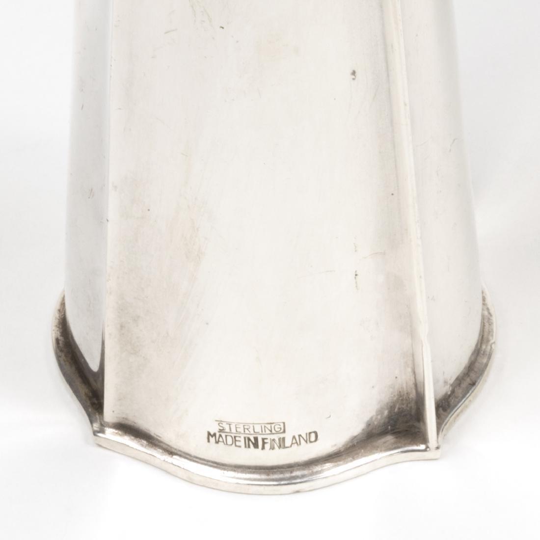Tapio Wirkkala Sterling Silver Vases (2) - 3