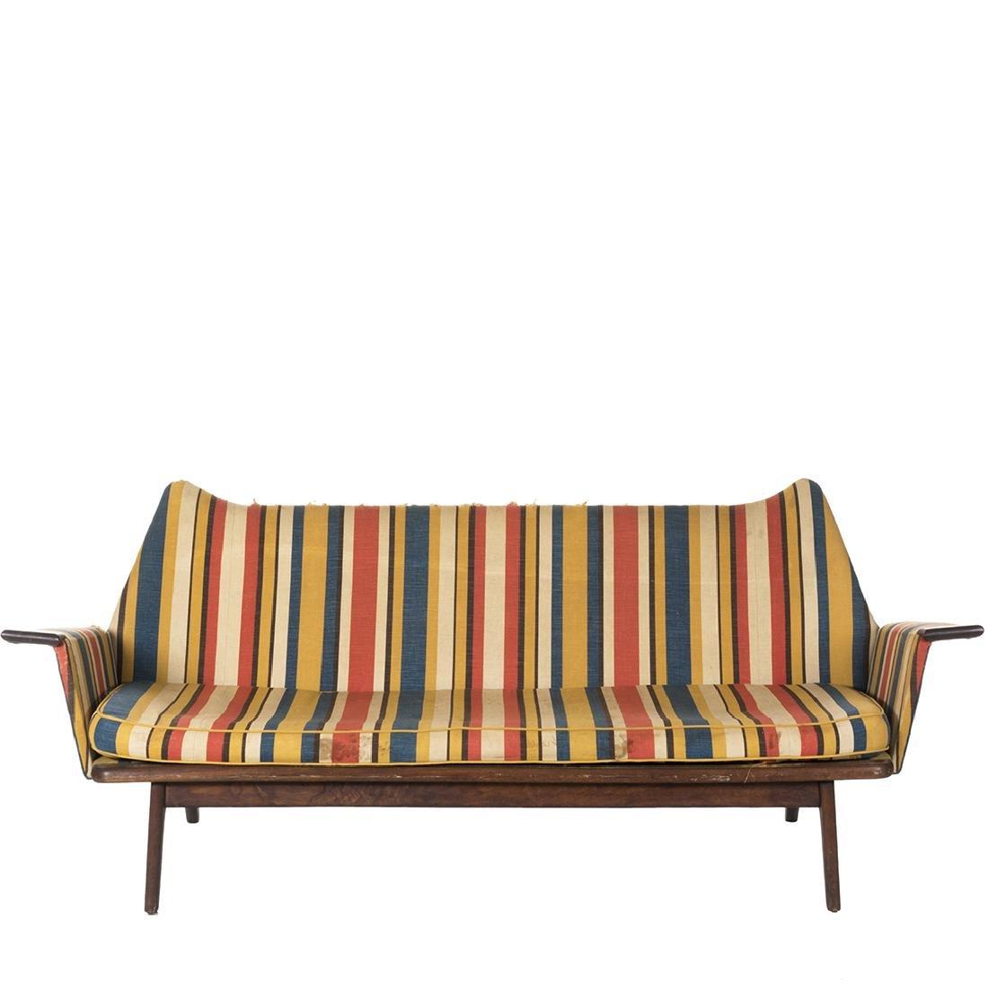Danish Sculptural Sofa