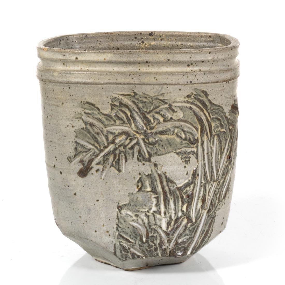 Jerry Rothman Stoneware Planter - 2
