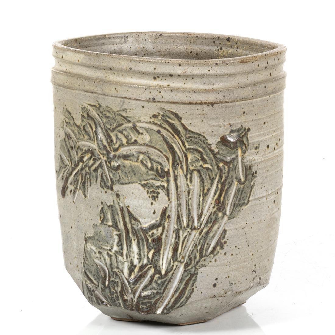 Jerry Rothman Stoneware Planter - 3
