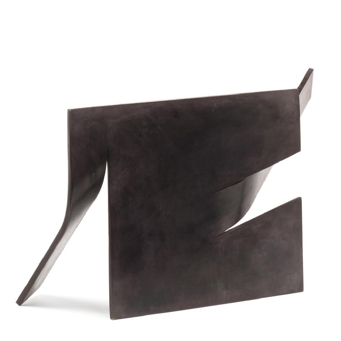 Abstract Bronze Sculpture