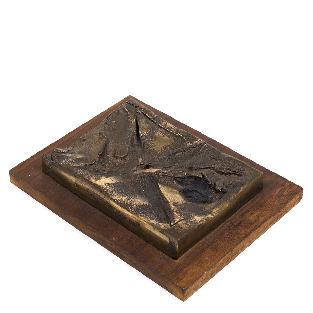 Kenneth Fisher bronze sculpture
