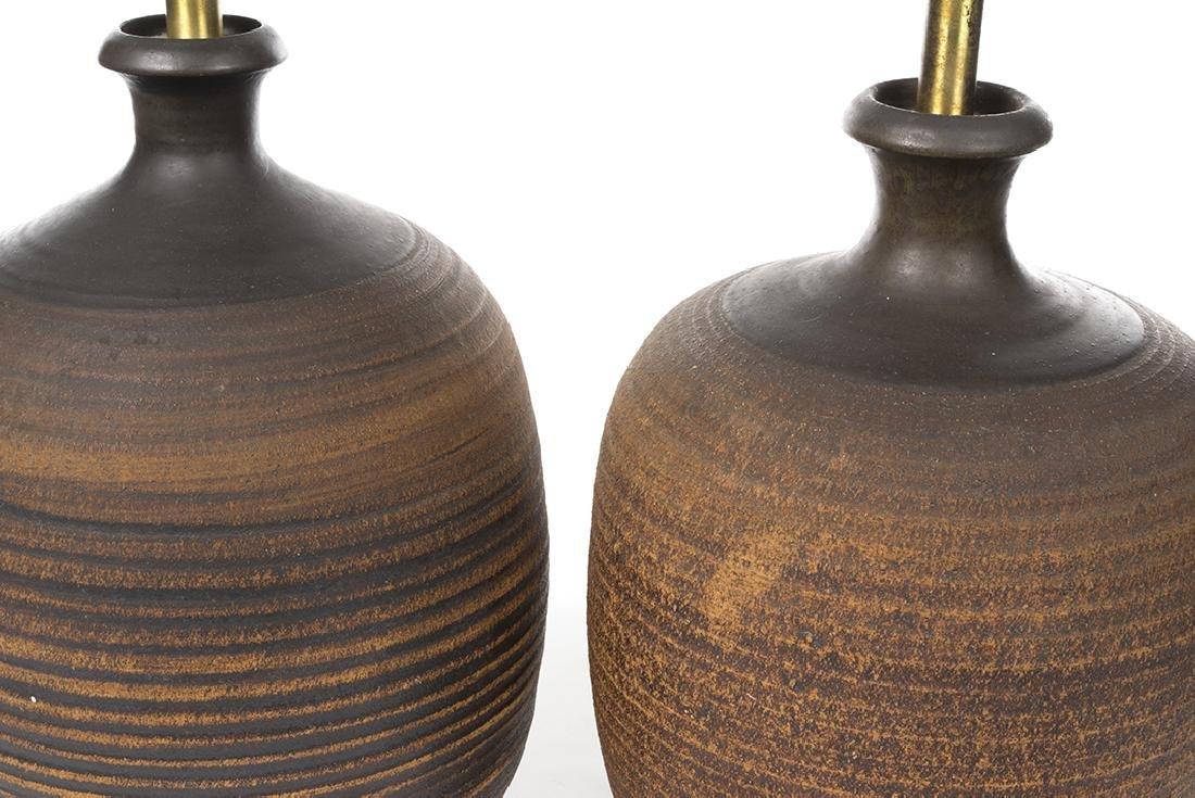 Bob Kinzie Ceramic Table Lamps - 2