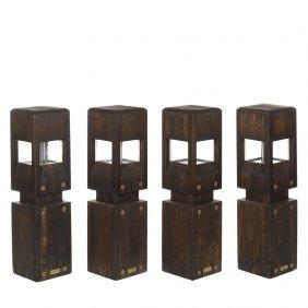 Woodform Redwood Outdoor Lights (4)