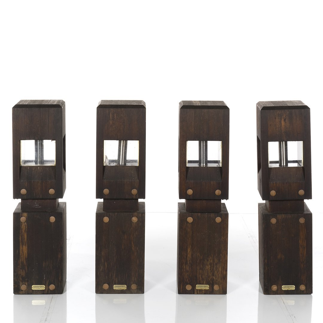 Woodform Redwood Outdoor Lights (4) - 2