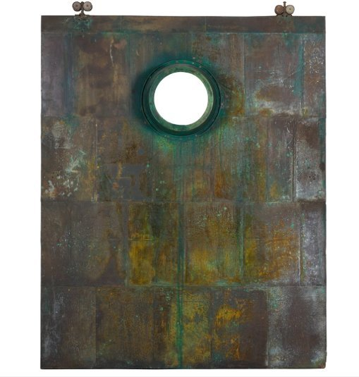 Industrial Brass Door