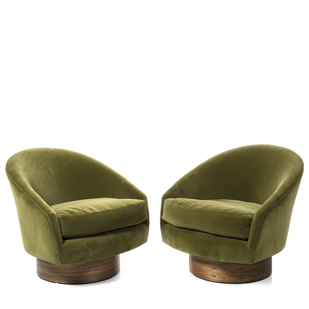 Adrian Pearsall Lounge Chairs (2)