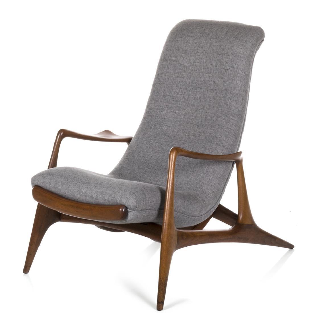 Vladimir Kagan Adjustable Lounge Chair