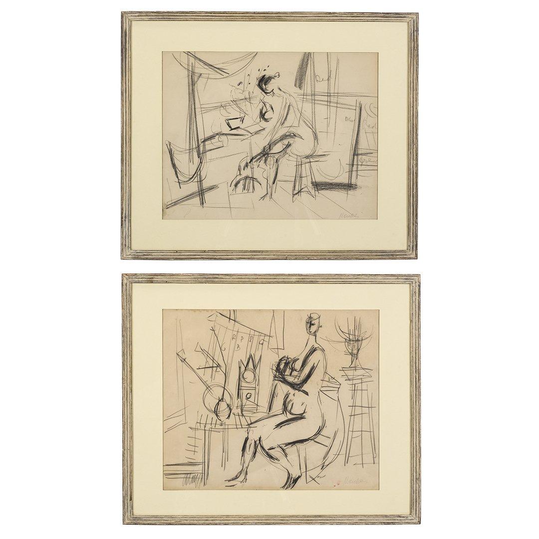 Zygmunt Menkes Pencil Drawings (2)