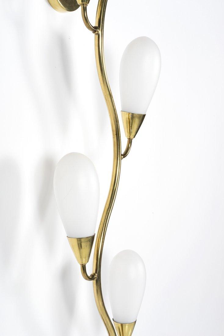 Sculptural Brass Sconce - 2