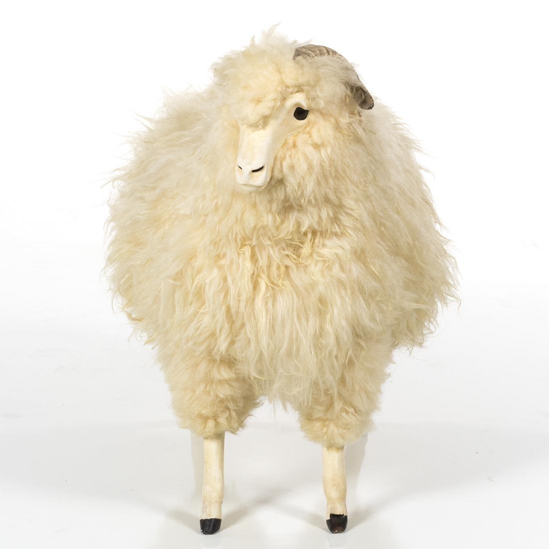 Vintage Decorative Sheep - 2