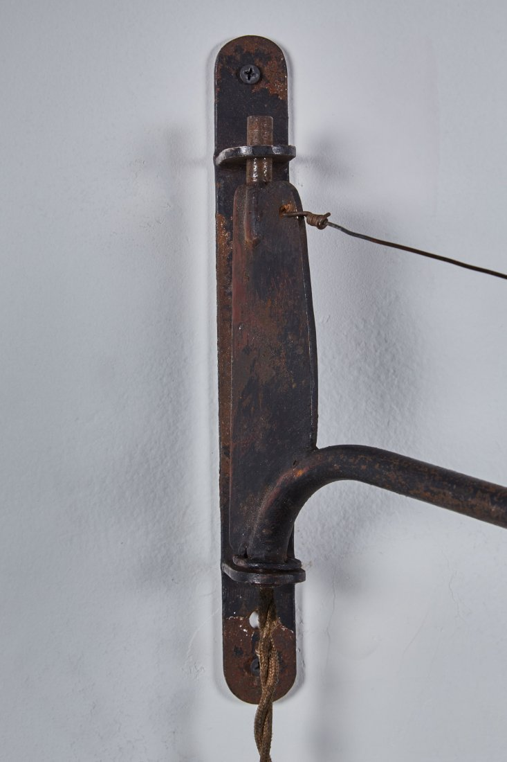 Jean Prouve Attributed Swing-Jib Lamp - 2