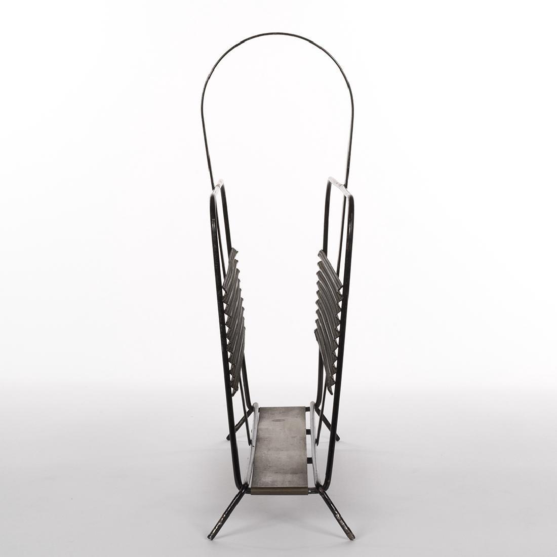 Mathieu Mategot Style Magazine Rack - 3