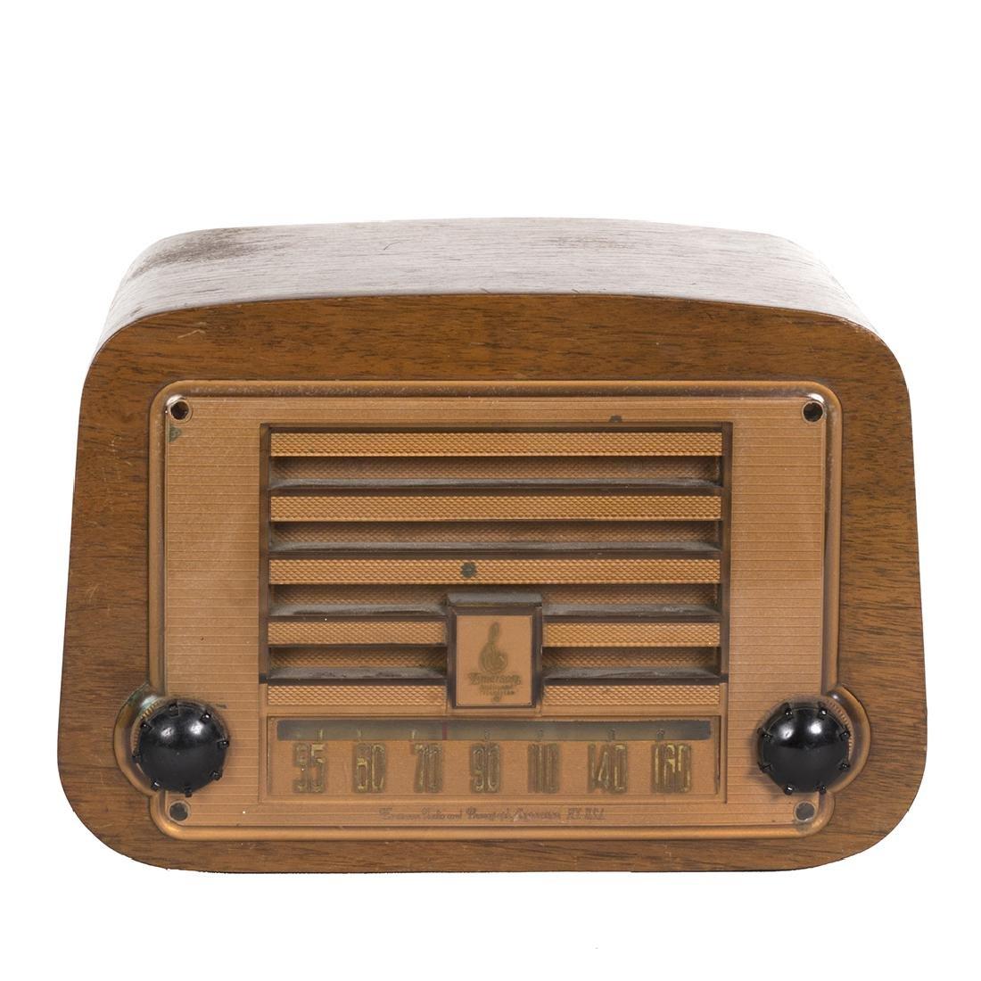 Charles Eames Emerson Radio