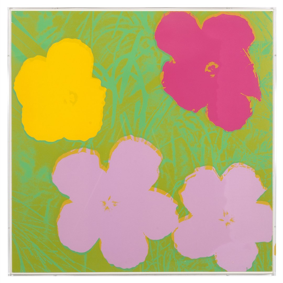 Flowers Serigraphs by Andy Warhol (10) - 2