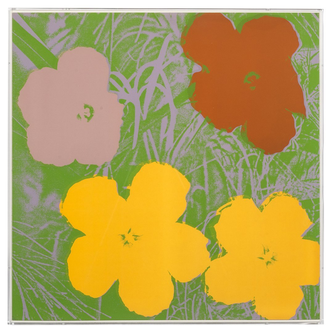 Flowers Serigraphs by Andy Warhol (10) - 3