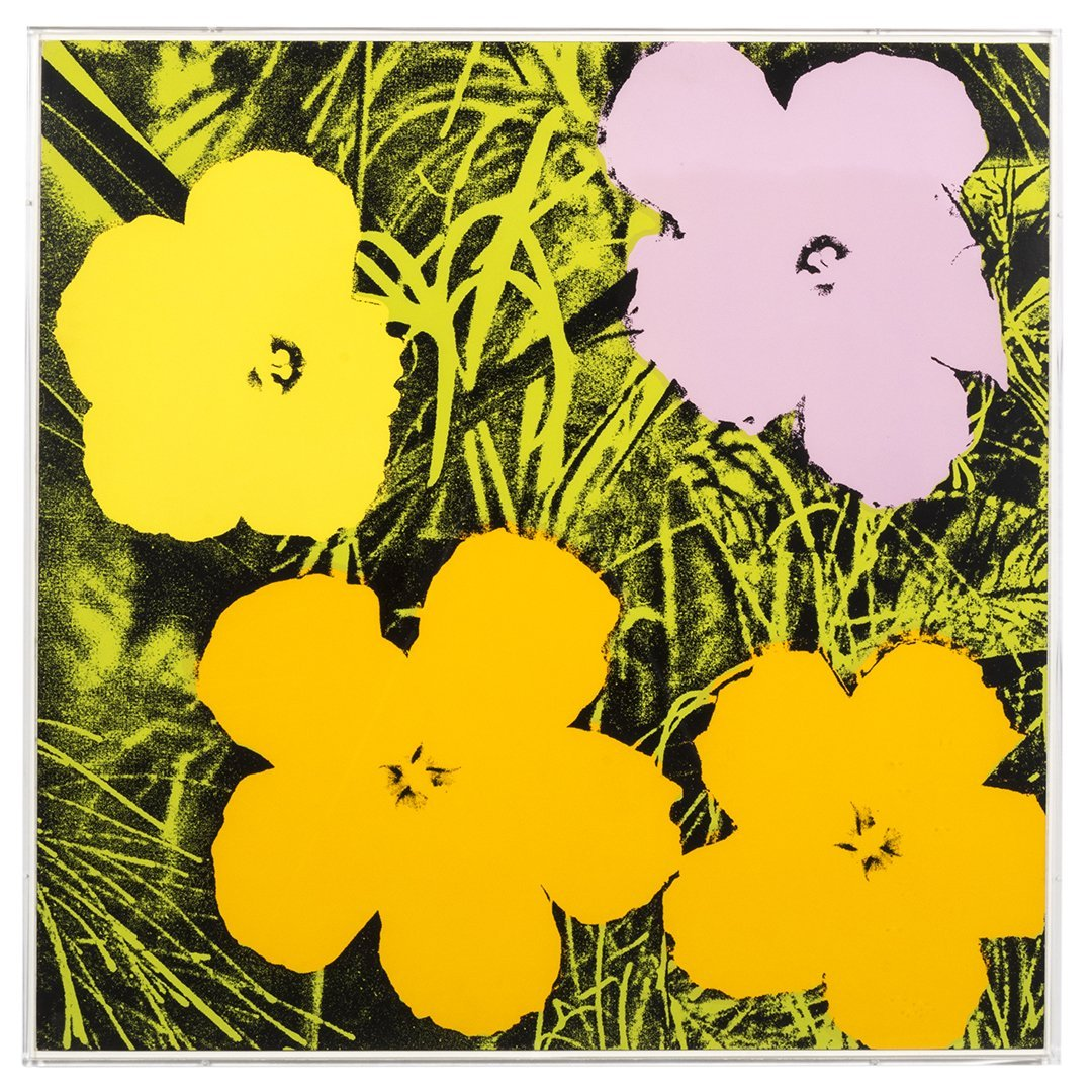 Flowers Serigraphs by Andy Warhol (10) - 4