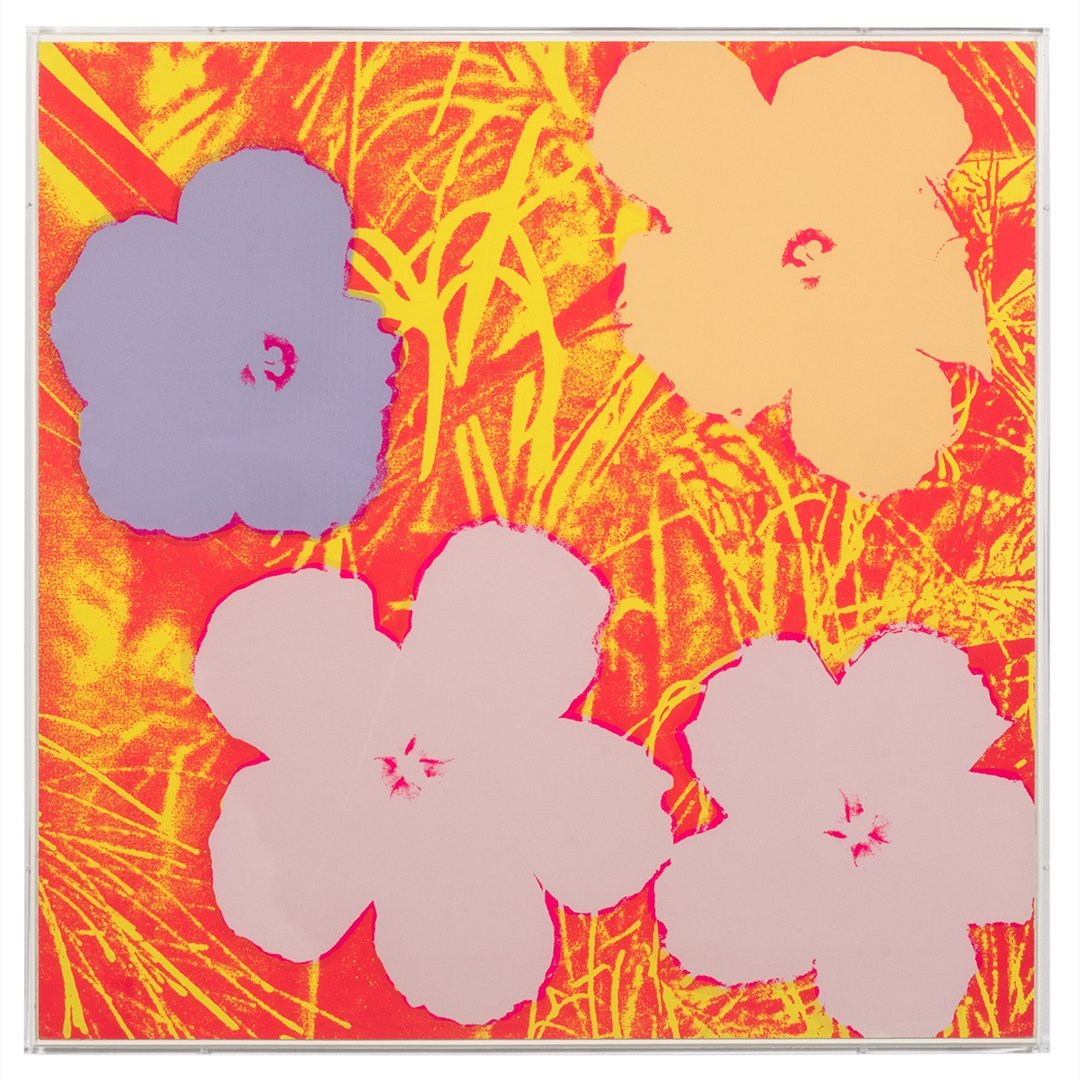 Flowers Serigraphs by Andy Warhol (10) - 5
