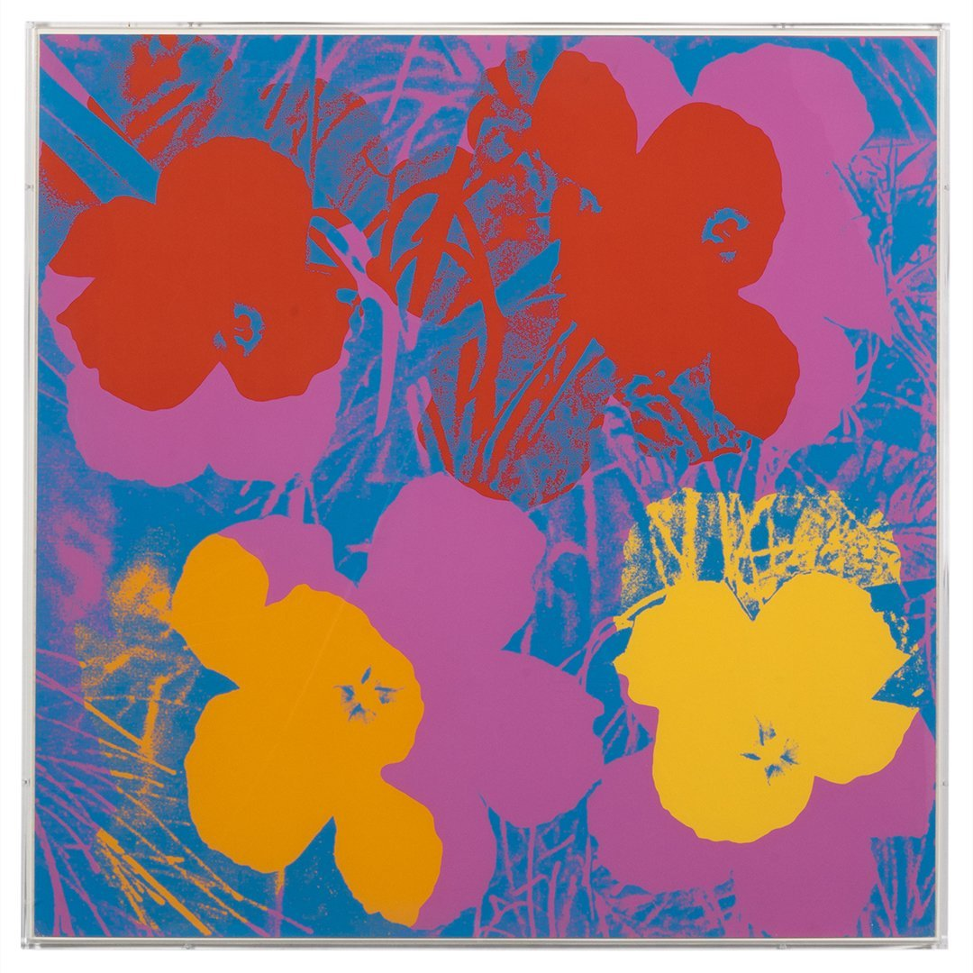 Flowers Serigraphs by Andy Warhol (10) - 6